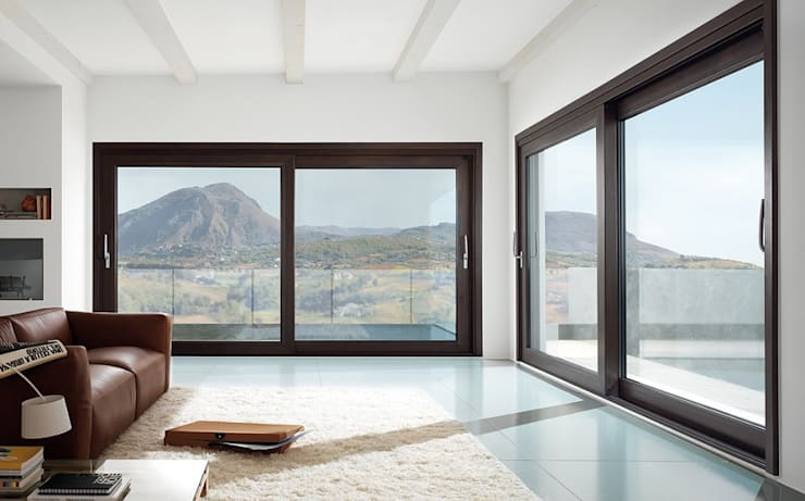Windows & doors  تنفيذ Serramenti Milano