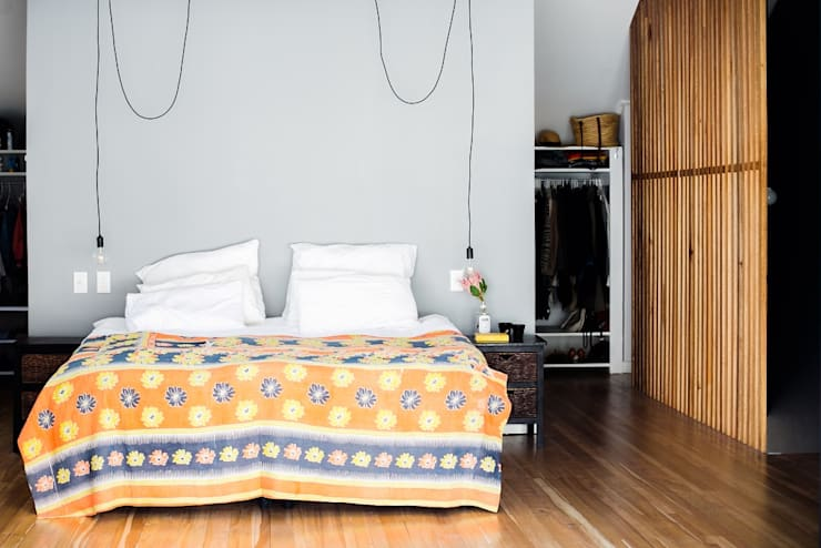 scandinavian Bedroom by homify