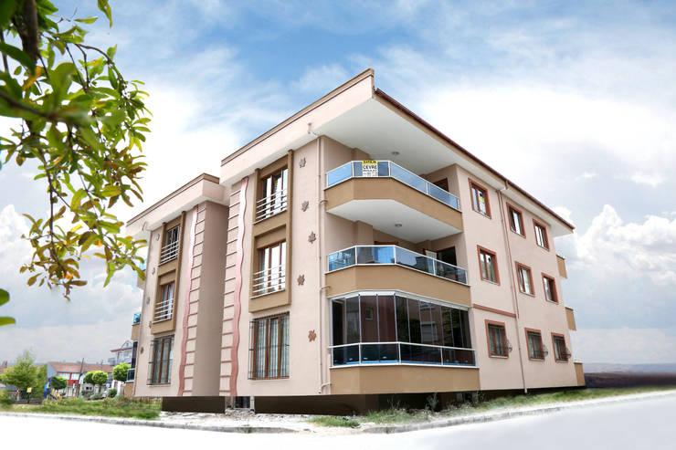 Çevre inşaat  – KALE VİLLALLARI:  tarz Evler, Modern