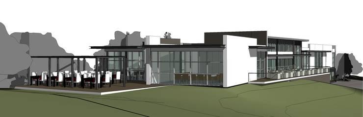 Clube House de Golf Ecoclógico:   por 2levels, Arquitetura e Engenharia, Lda