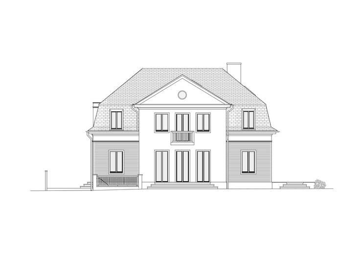 west facade:   by brandt+simon architekten