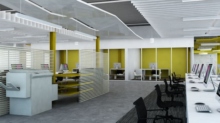Commercial Projects :  Commercial Spaces by Atelier036
