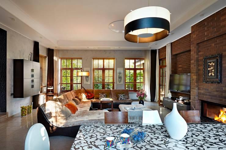 Modern living room by Irina Derbeneva Modern