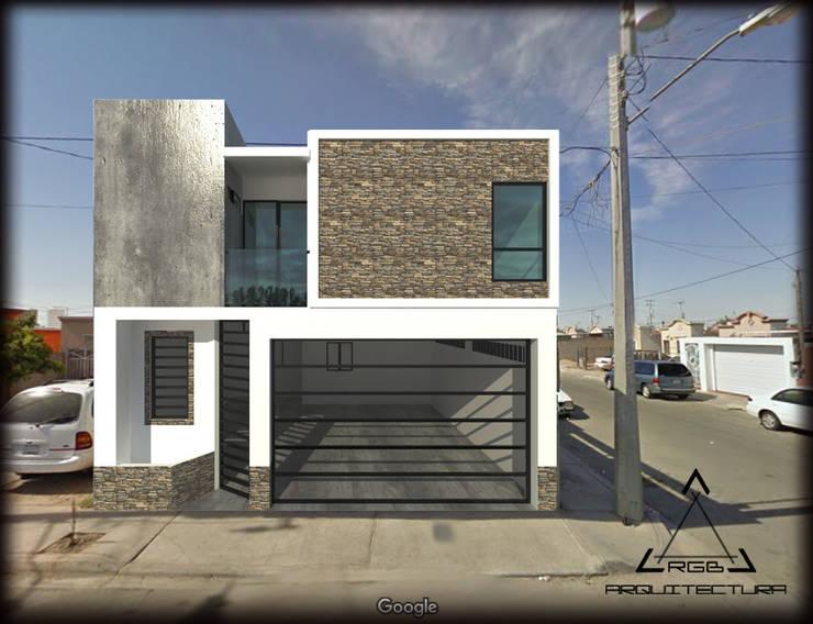CASA GS:  de estilo  por RGB - Arquitectura