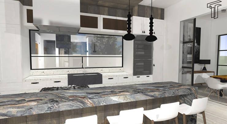 Cocinas de estilo  por TAMEN arquitectura