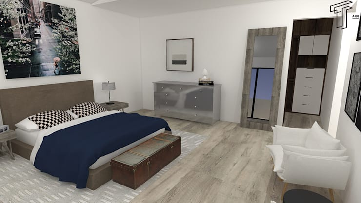 Bedroom by TAMEN arquitectura
