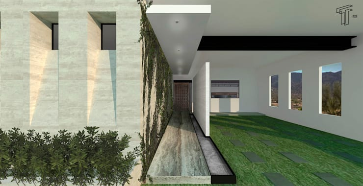 modern Houses by TAMEN arquitectura