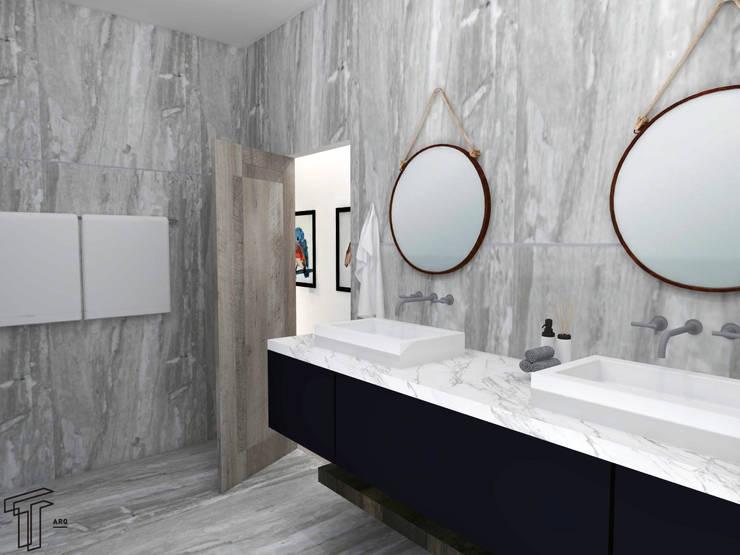 Bathroom by TAMEN arquitectura
