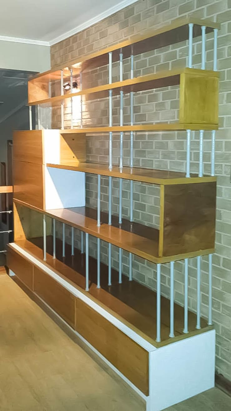 Biblioteca - Bar: Salas de estilo  por Reforma Arquitectura y Construcción SpA