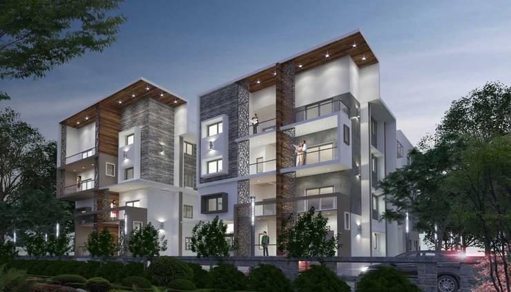 Apartment Architecture Design—Kilpauk:  Houses by DLEA