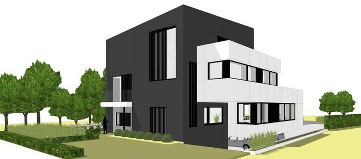 Voorgevel:  Huizen door AVENIRarchitecten bvba