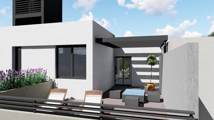 CASA CM: Casas de estilo  por ARBOL Arquitectos ,