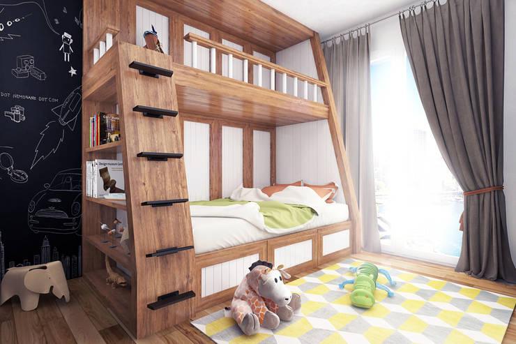 غرفة الاطفال تنفيذ Ammar Bako design studio