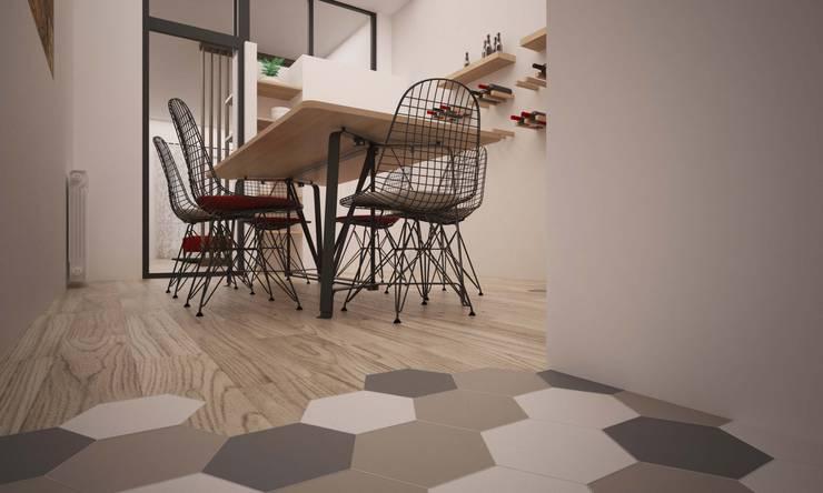 CORSO TORTONA: Cucina in stile  di LAB16 architettura&design