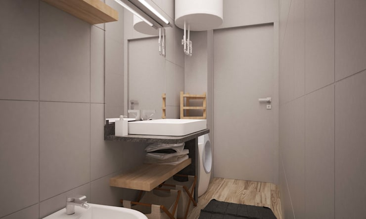 industrial Bathroom by LAB16 architettura&design