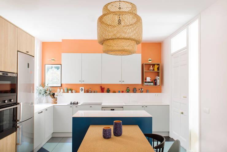 Кухни в . Автор – nimú equipo de diseño