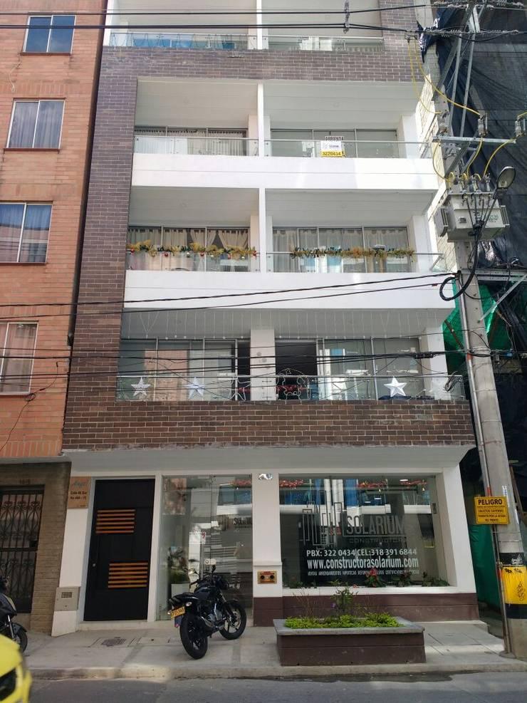 Torre Ángel: Casas de estilo  por Le.tengo Arquitectos