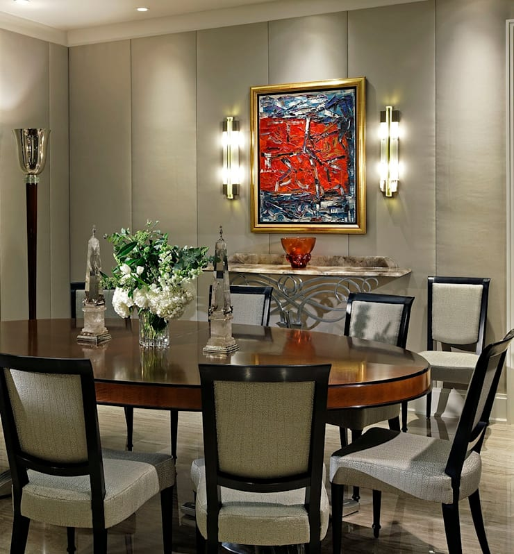 Dining Room:  Dining room by Douglas Design Studio