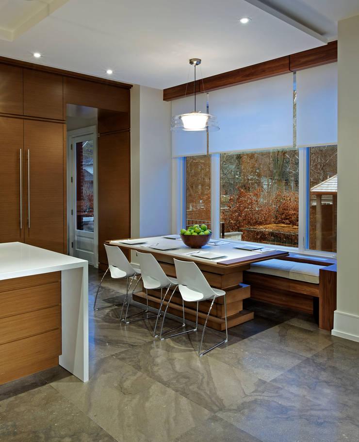 Breakfast Area:  Kitchen by Douglas Design Studio