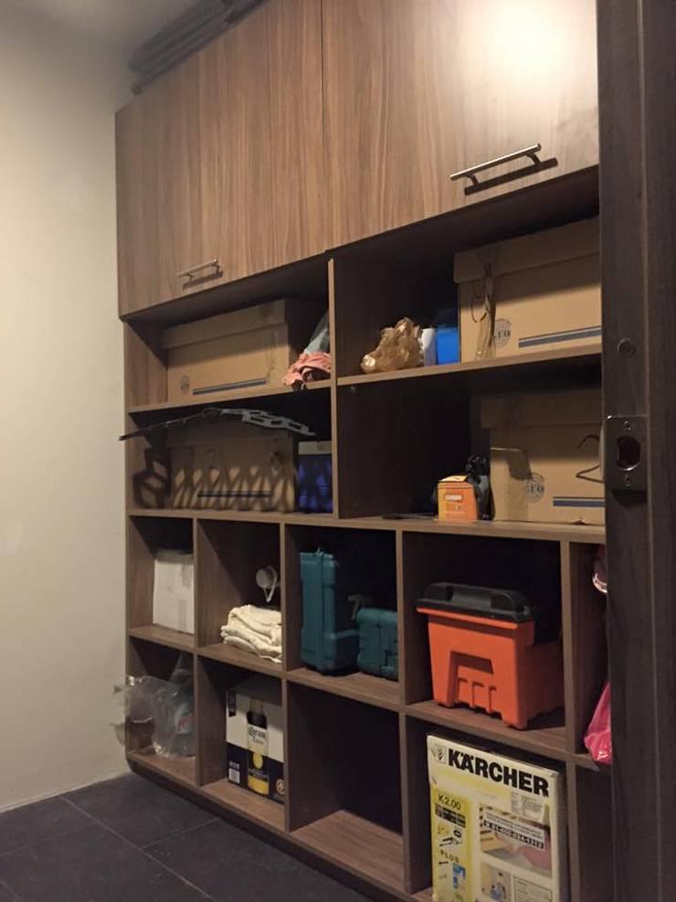 Mueble de guardado: Hogar de estilo  por L&G Arquitectos