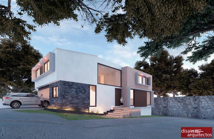 Casa Živali D-1: Casas de estilo  por disain arquitectos