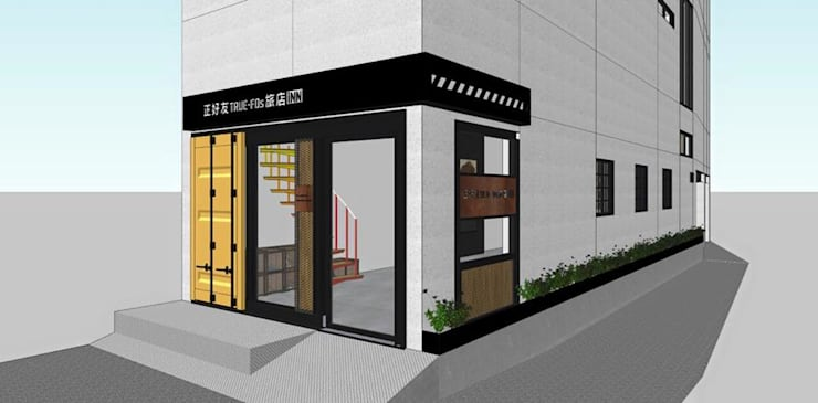正好友民宿:  飯店 by 貳工箱造 H2 Box Design
