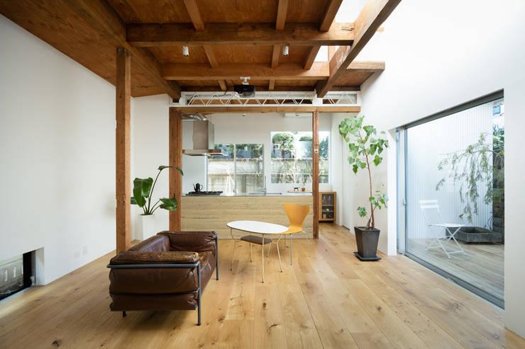 Dapur by ディンプル建築設計事務所