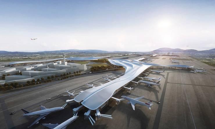 Chengdu International Airport, Chengdu, China, by Aedas:  Airports by Aedas