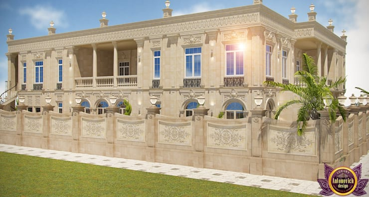 Architectural design of Katrina Antonovich:  Houses by Luxury Antonovich Design, Classic