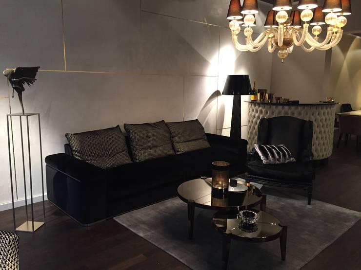 Living room تنفيذ Art und Ambiente, Bernhardt GmbH