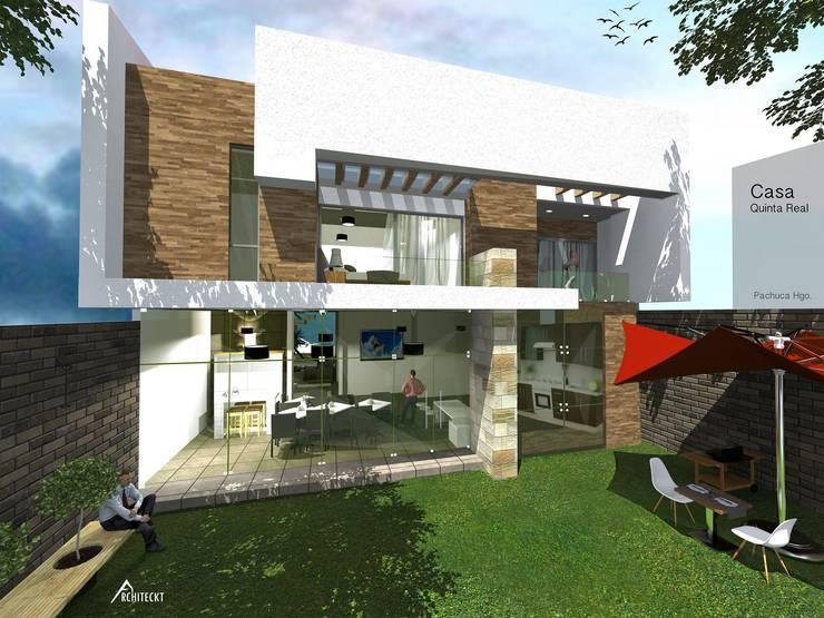 Casas de estilo  por ARCHITECKT