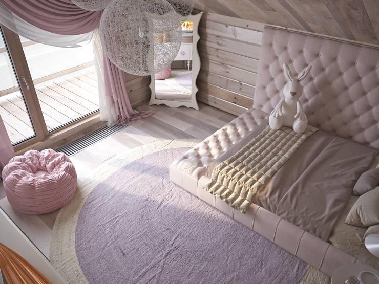 Dormitorios infantiles de estilo  por премиум интериум
