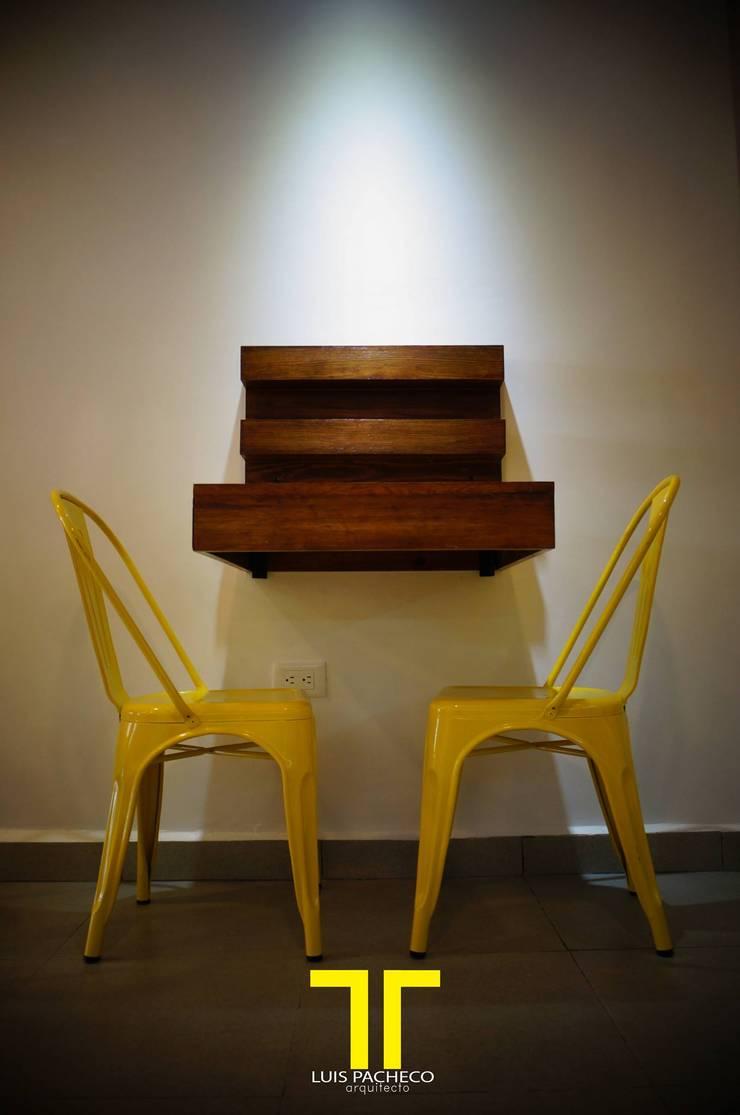 Mesa Duo:  de estilo  por Luis Pacheco arquitecto