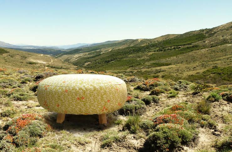 Banco Neneo Macho: Livings de estilo  por TocToc - Muebles y Objetos Argentinos,