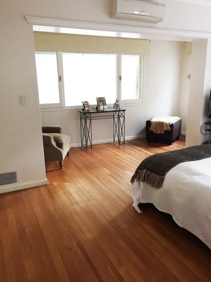 Reforma y Decoracion RD: Dormitorios de estilo  por Estudio CRUDO,Clásico Madera Acabado en madera