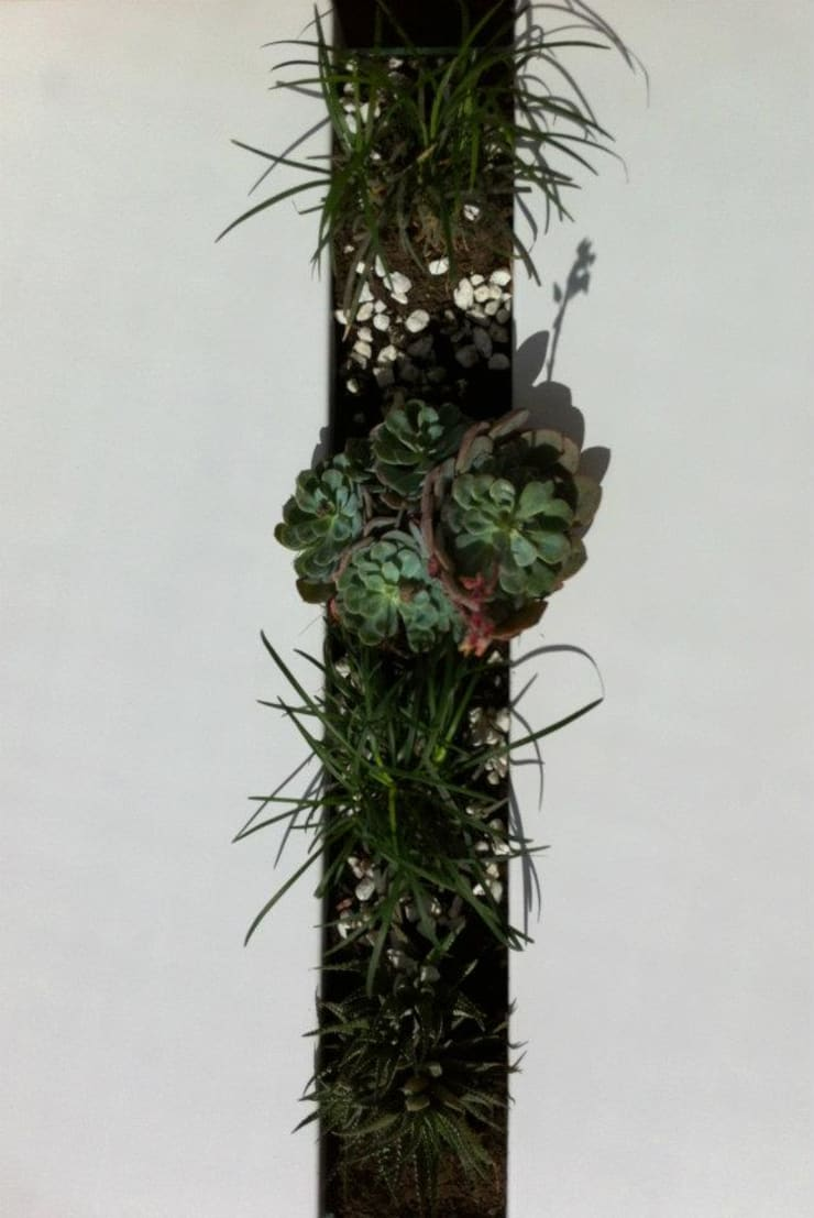 Deco Oficinas Green Group:  de estilo  por Estudio CRUDO,Minimalista Metal