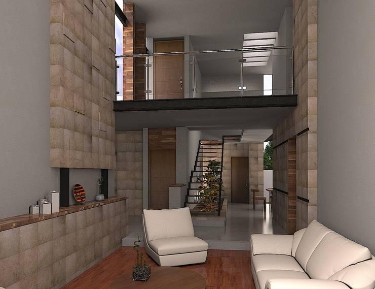SALA: Salas de estilo  por 3030 ARQUITECTOS