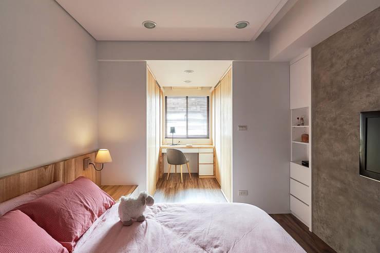 青瓷設計工程有限公司が手掛けた寝室