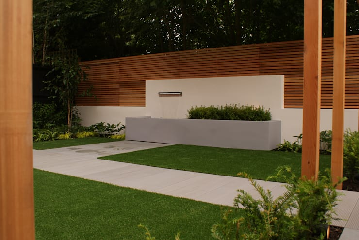 Jardines de estilo  por Hannah Collins Garden Design