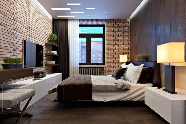 SOFT LOFT: Спальни в . Автор – BOOS architects
