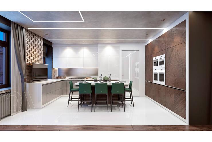SOFT LOFT: Столовые комнаты в . Автор – BOOS architects
