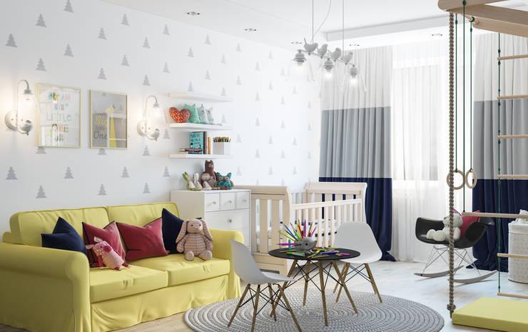Dormitorios infantiles de estilo  por OM DESIGN