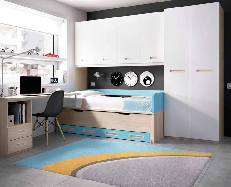 Habitaciones infantiles de estilo  de Intense mobiliário e interiores;