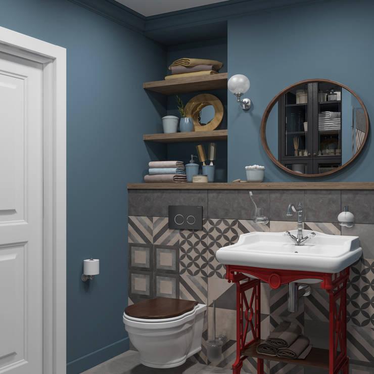 Projekty,  Łazienka zaprojektowane przez OM DESIGN