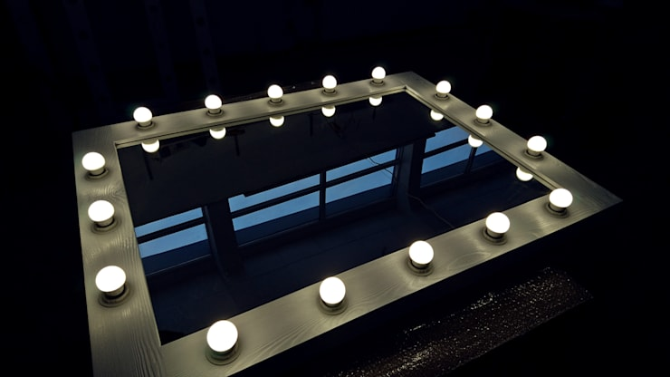Lustra drewniane z oświetleniem LED : styl , w kategorii  zaprojektowany przez ZAP project