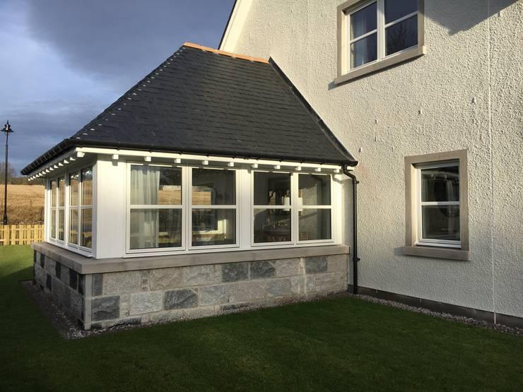 Projekty,  Domy zaprojektowane przez Roundhouse Architecture Ltd