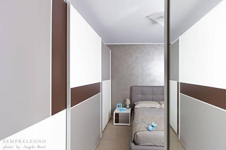 Mobili Per Camera Da Letto Milano : Camera matrimoniale arredata su misura con mobili di design made