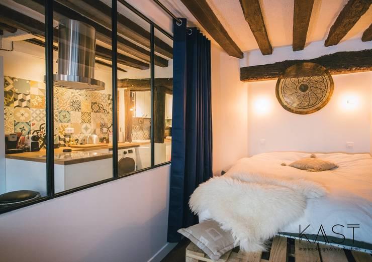 غرفة نوم تنفيذ KAST design