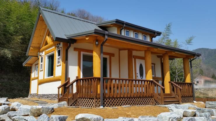 21평 소형 통나무집: 보국주택의