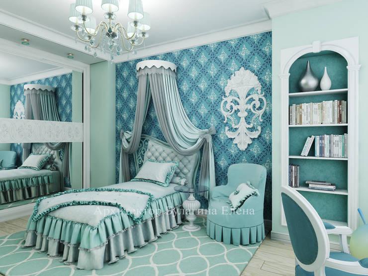 Детская комната: Детские комнаты в . Автор – Архитектурное Бюро 'Капитель'